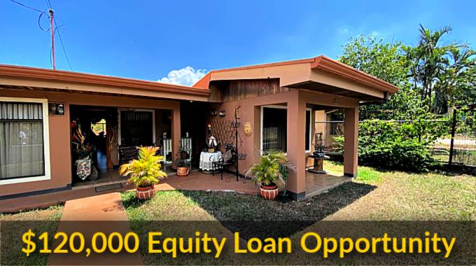 $120,000 Equity Loan Atenas