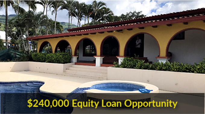 Equity Loan Opportunity Ciudad Colon $240,000