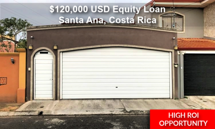 Santa Ana $120,000 Equity Loan