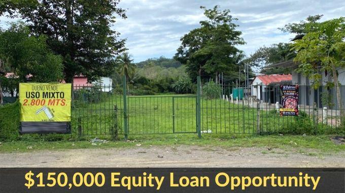 $150,000 Equity Loan Jaco Property