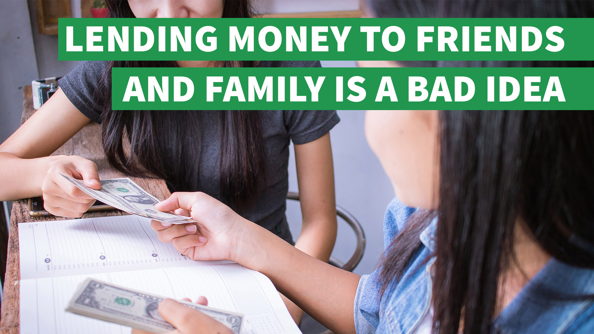 Lending Money To Friends And Family