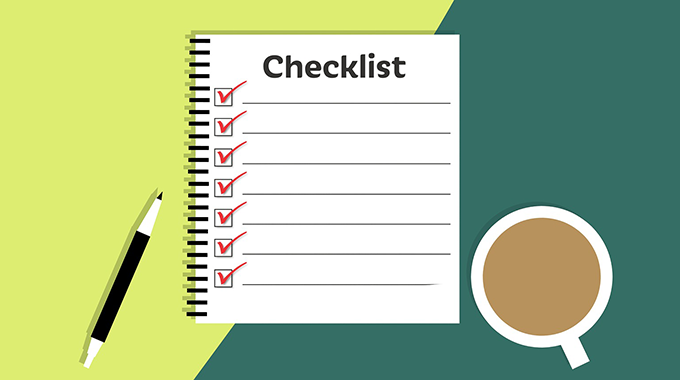 Property Evaluation Checklist
